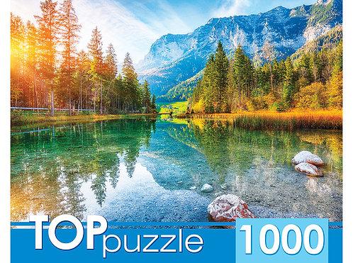 TOPpuzzle. ПАЗЛЫ 1000 элементов. ГИТП1000-2150 Германия. Озеро Хинтерзее