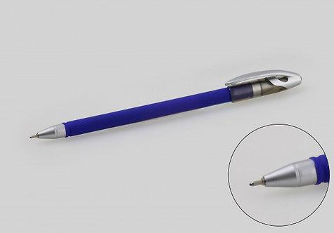 Ручка шариковая корпус антискользящий СИНЯЯ ASMAR AR-2267 (50шт/уп)