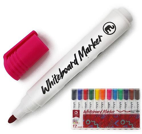 Набор маркеров спиртовых для доски 12цв ART COCO 5617 в пластиковой упаковке (12