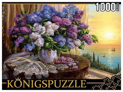 Konigspuzzle. ПАЗЛЫ 1000 элементов. РУКK1000-3818 О. ДАНДОРФ. БУКЕТ