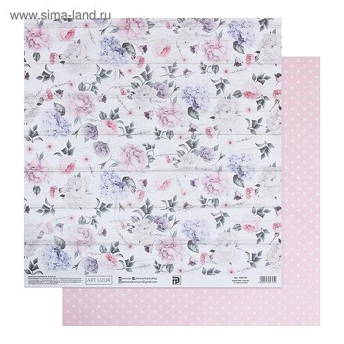 Бумага для скрапбукинга «Нежный возраст», 30.5 × 32 см, 190 гм 4505795
