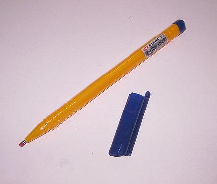 Ручка шариковая корпус трехгранный оранжевый СИНЯЯ ASMAR AR-2293 (50шт/уп)