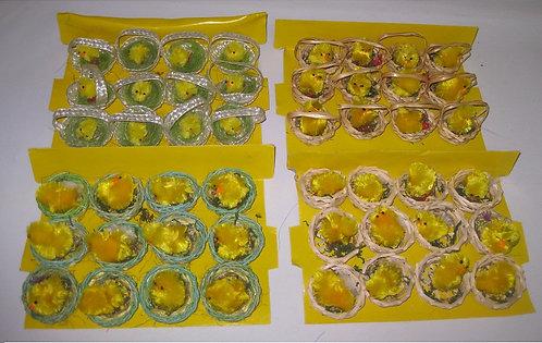 Набор пасхальный цыпленок в корзинке ДИФ ПП-007