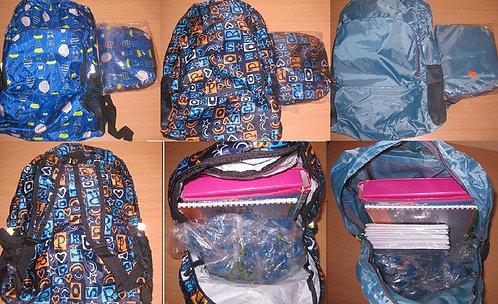 Рюкзак молодежный 1отдел+1карман+2наружные сетки 400х320х140мм SL 1680176/282614