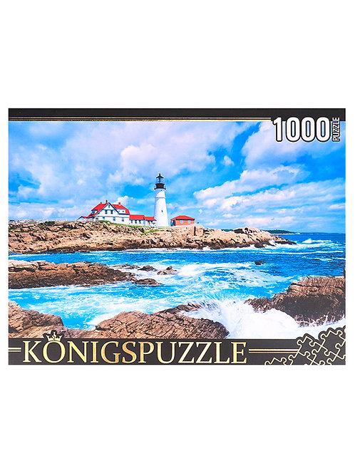 Konigspuzzle. ПАЗЛЫ 1000 элементов. ГИK1000-0643 МАЯК ПОРТЛЕНД-ХЕД