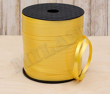 Лента упаковочная Классика (5 мм.*225 м.) желтый БЛ-8108
