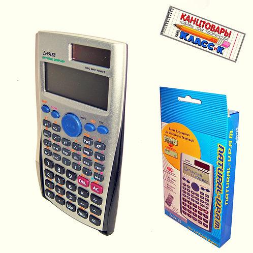 Калькулятор инженерный 10разрядный кнопка shift вычисляет интеграл FX-991ES