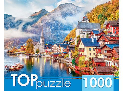 TOPpuzzle. ПАЗЛЫ 1000 элементов. ГИТП1000-2153 Австрия. Гальштат