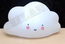 Ночник. Облачко, белый, 14х8 см, LED УД-4612