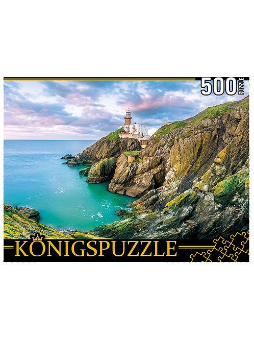 Konigspuzzle. ПАЗЛЫ 500 элементов. ШТK500-3580 ИРЛАНДИЯ. МАЯК БЭЙЛИ