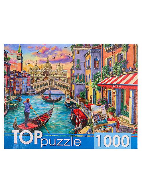 TOPpuzzle. ПАЗЛЫ 1000 элементов. ХТП1000-4144 Венецианский вечер