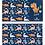 Thumbnail: Альбом для рисования А4 8л. МИКС-56 (08-5144) скрепка, мелов. обл.,блок-офс