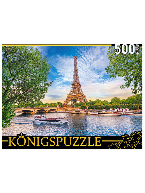 Konigspuzzle. ПАЗЛЫ 500 элементов. ШТK500-3700 ПАРИЖСКАЯ РОМАНТИКА