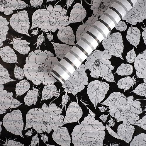 Бумага упаковочная глянцевая двусторонняя «Для тебя», 70 × 100 см 4702729