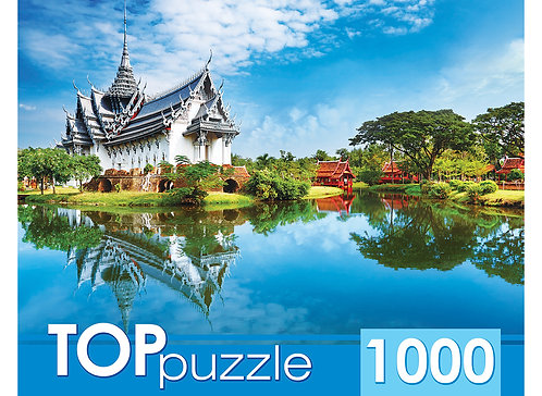 TOPpuzzle. ПАЗЛЫ 1000 элементов. ГИТП1000-2151 Таиланд. Дворец Санпхет Прасат