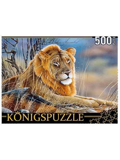 Konigspuzzle. ПАЗЛЫ 500 элементов. РУКK500-3698 Я. ВЕННИНГ. ЛЕВ