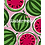 Thumbnail: БЛОКНОТ А7 32л. АРБУЗЫ (Б32-6030) ассорти, на скрепке, цвет.мелов.обл, блок-офсе