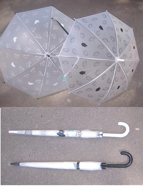 """Зонт-трость """"Черно-белые кошки"""" 2144"""