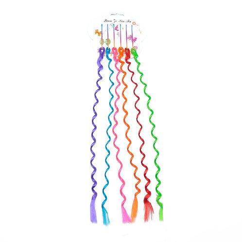 Волосы-коса для плетения кос 280мм E-28 (6шт/уп)