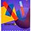 """Thumbnail: TМ""""Profit""""Тетрадь КЛЕТКА 48л.  ГЕОМЕТРИЧЕСКАЯ АБСТРАКЦИЯ  (48-6072) цвет. мелов."""