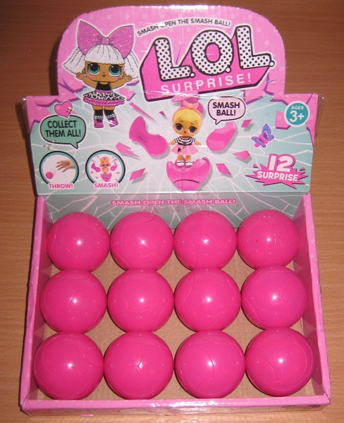 """Игрушка-кукла """"LOL в мяче разбивающийся"""" 538"""