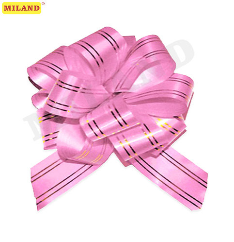 Бант-шар Золотое сечение, 5 см, розовый БЛ-6491