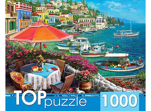 TOPpuzzle. ПАЗЛЫ 1000 элементов. ХТП1000-2168 Курортный город
