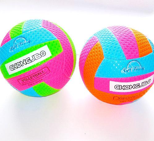 Мяч волейбольный кожзам цветной AN01110