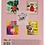 "Thumbnail: TМ""Profit""Тетрадь КЛЕТКА 48л. МИКС-6082 (48-6082) цвет. мелов. обл."