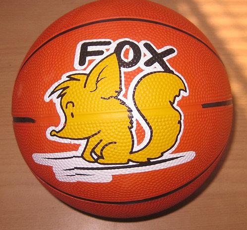 Мяч баскетбольный резина МАЛЫЙ №3 LQ-1