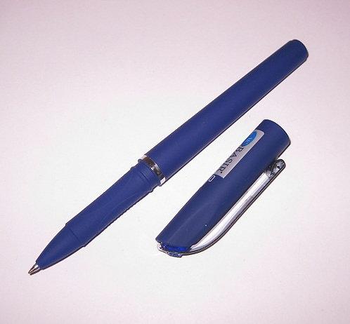 Ручка гелевая корпус толстый антискользящий синий СИНЯЯ BASIR MC-3485 (12шт/уп)