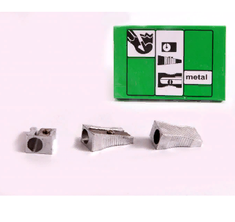 Точилка метал ОДИНАРНАЯ ASMAR AR-930 (24шт/уп)