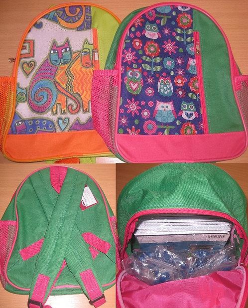 Рюкзак детский 1отдел+карман+2наружные сетки 330х310мм SL 1882752/1882755/188275