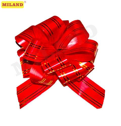 Бант-шар Золотое сечение, 5 см, красный БЛ-6489