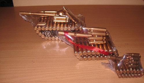 "Сувенир из гильз ""Танк"" 200х85х90мм MILAND T-1952 в коробке"