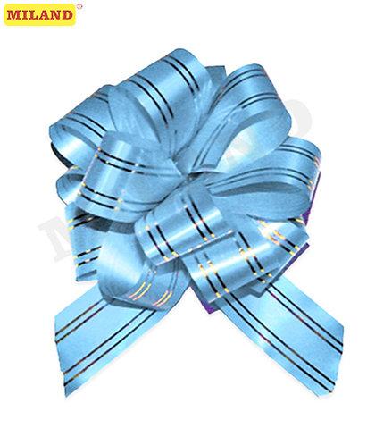 Бант-шар Золотое сечение, 3 см, голубой БЛ-6486