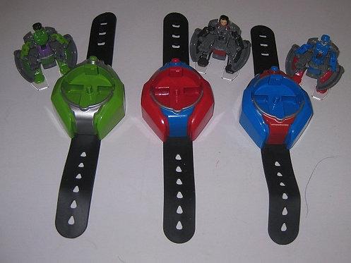 """Набор игрушка-браслет-часы """"Супергерои Мстители """" SB803 в коробке"""