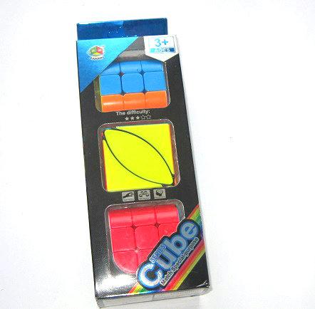 """Набор кубиков-рубиков 3шт """"Cube series"""" FX7781 в коробке"""