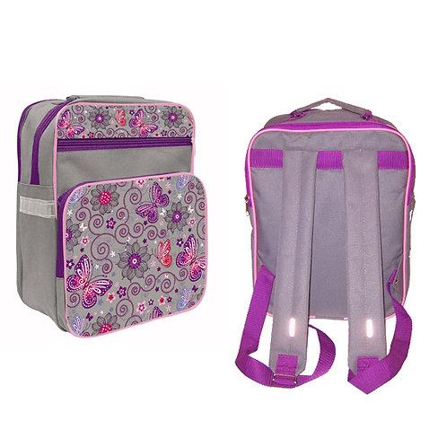 Рюкзак детский для начальной школы 2отдела+1карман+2боковых кармана 340х27