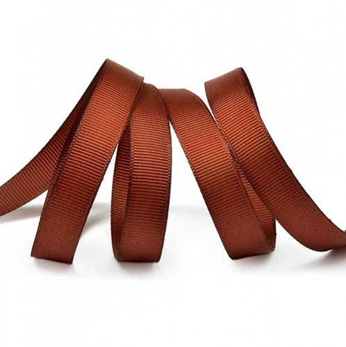 Лента упаковочная репсовая Классика, 12 мм х 22 м,шоколадный БЛ-5626