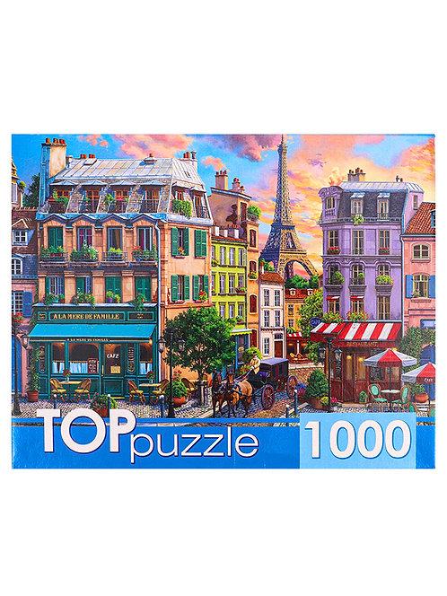 TOPpuzzle. ПАЗЛЫ 1000 элементов. ХТП1000-4152 Старый Париж