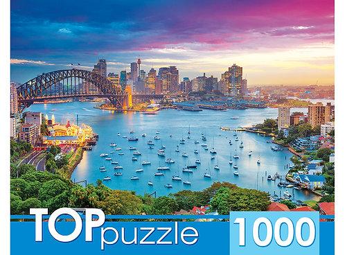 TOPpuzzle. ПАЗЛЫ 1000 элементов. ГИТП1000-2156 Австралия. Сидней