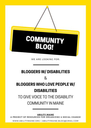 Community Blog Launch!