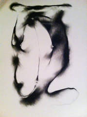 30x39 charcoal on paper