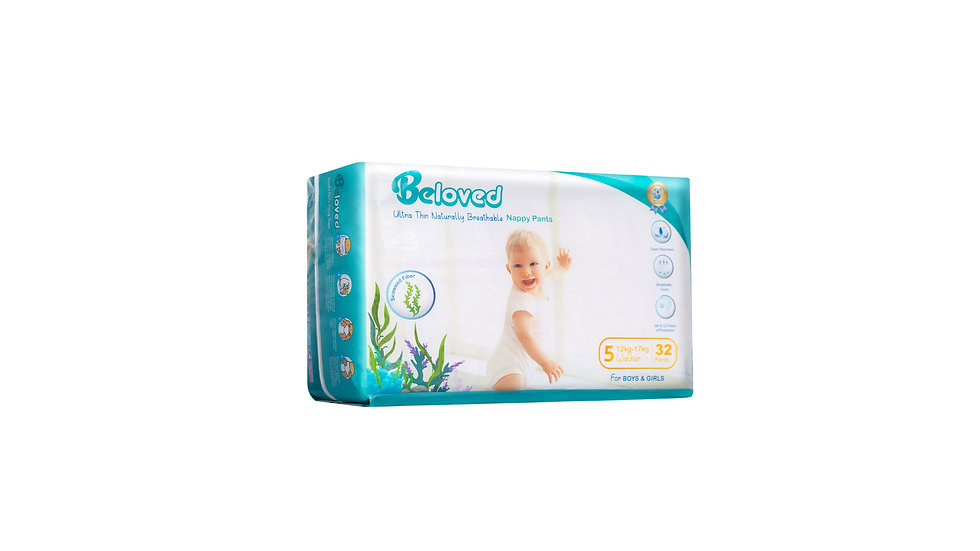 Ultra Thin Naturally Breathable Nappies Beloved - Walker