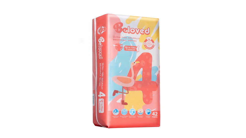 Goat Milk Extract Series Nappies Beloved - Toddler