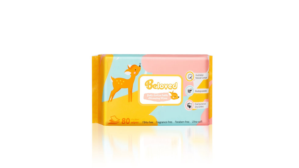 Cotton Tabby Cleansing Wipes