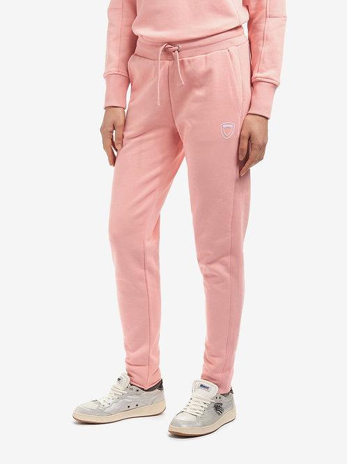 Różowe spodnie dresowe Blauer.