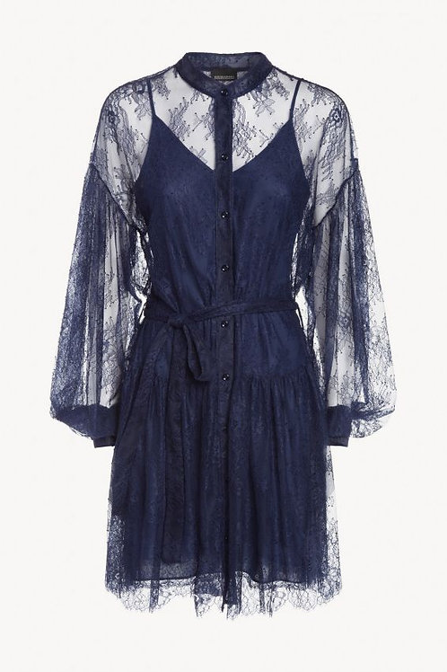 Koronkowa sukienka koszulowa Ermanno Scervino