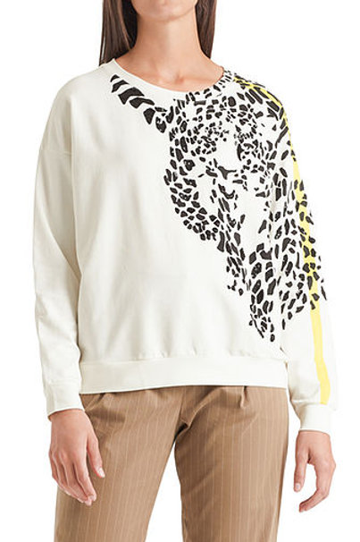 Bluza z lamparcim motywem Marc Cain